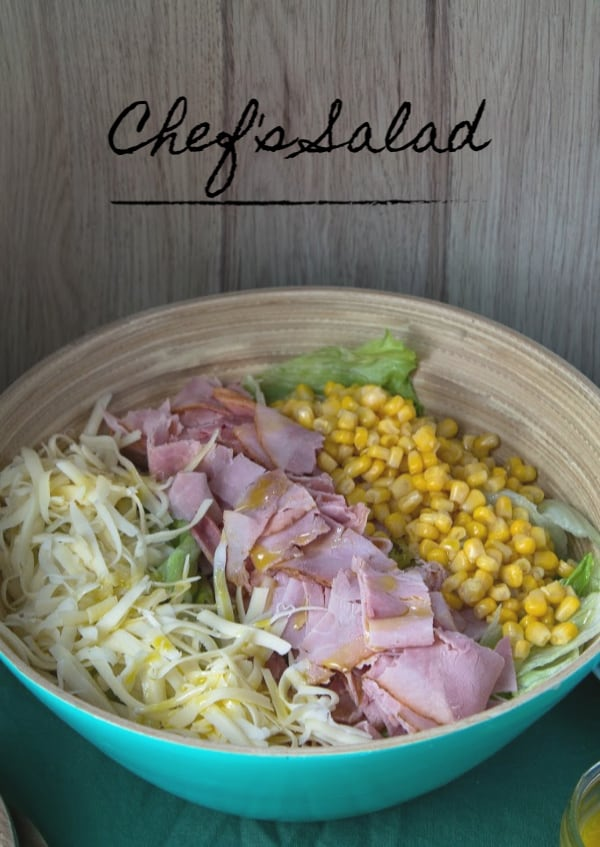 Chef's Salad | How to Be Awesome on $20 a Day