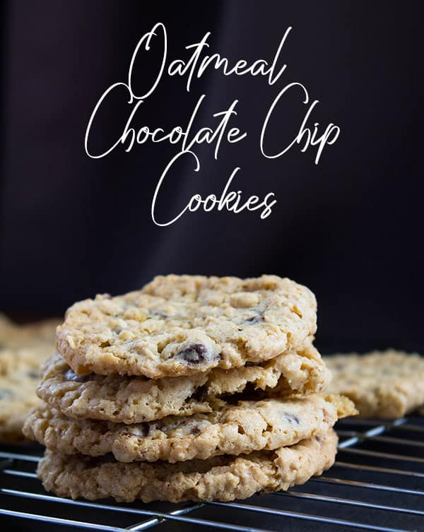 Oatmeal Chocolate Chip Cookies   How to Be Awesome on $20 a Day
