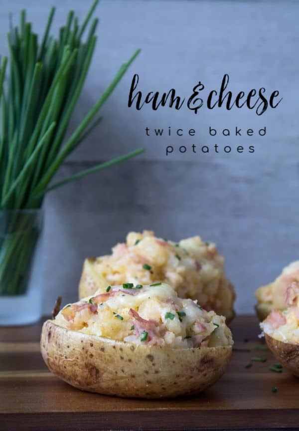 Ham & Cheese Twice Baked Potatoes | How to Be Awesome on $20 a Day