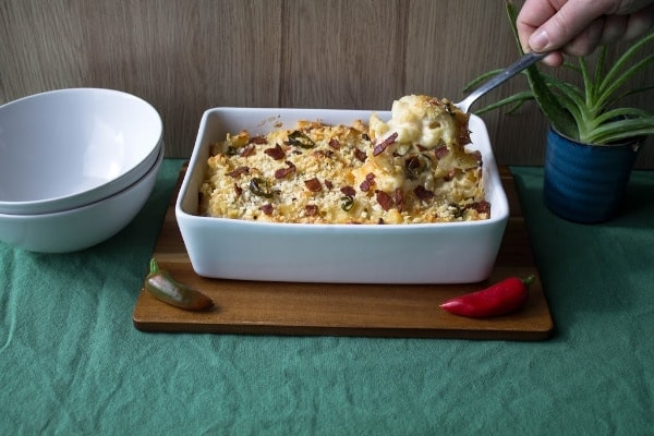 Spicy Bacon Mac & Cheese   How to Be Awesome on $20 a Day