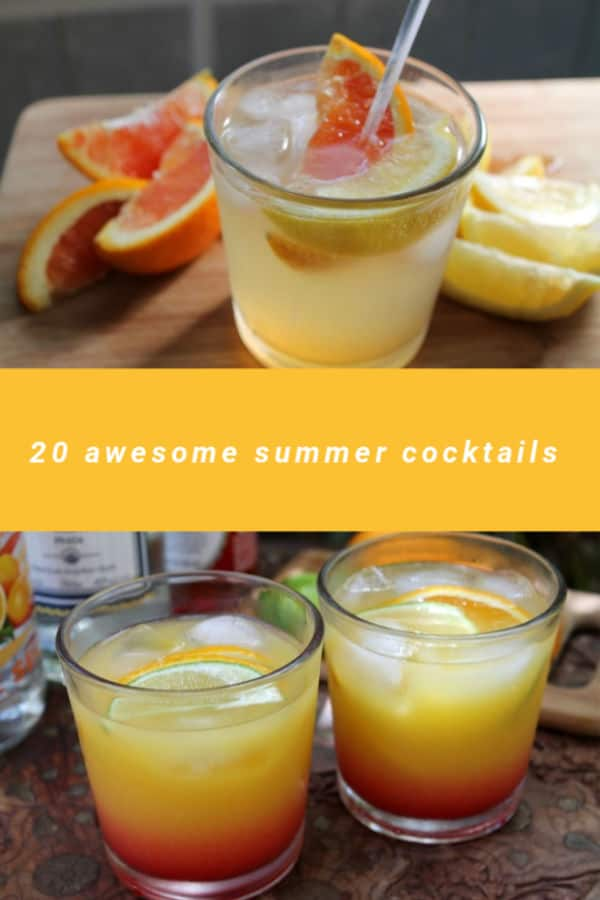 20 Awesome Summer Cocktails | How to Be Awesome on $20 a Day