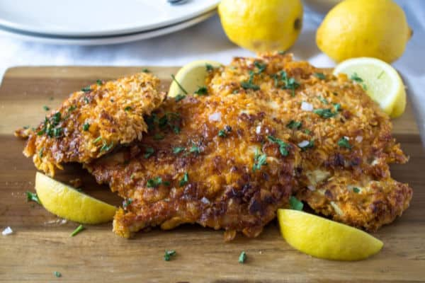 Crunchy Lemon Chicken | How to Be Awesome on $20 a Day