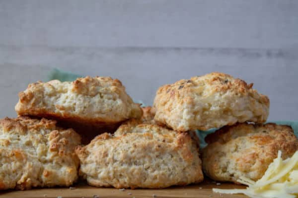 Smoked Cheddar & Sage Biscuits | How to Be Awesome on $20 a Day