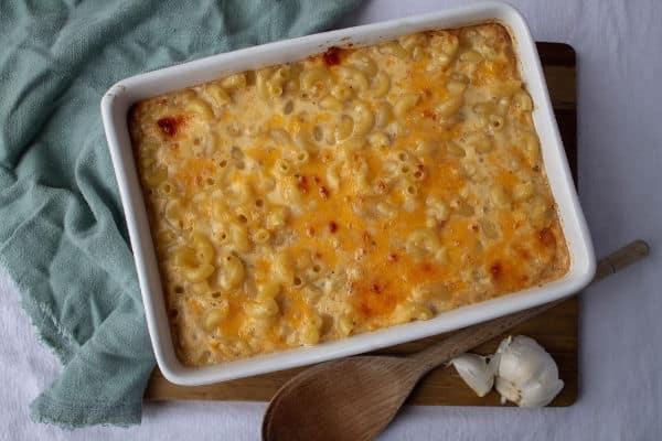 Garlic Mac and Cheese