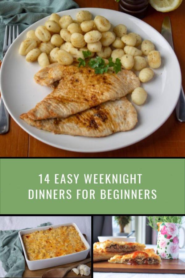 14 Easy Weeknight Dinners for Beginners