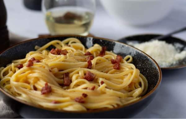 Bowl of Bacon Carbonara