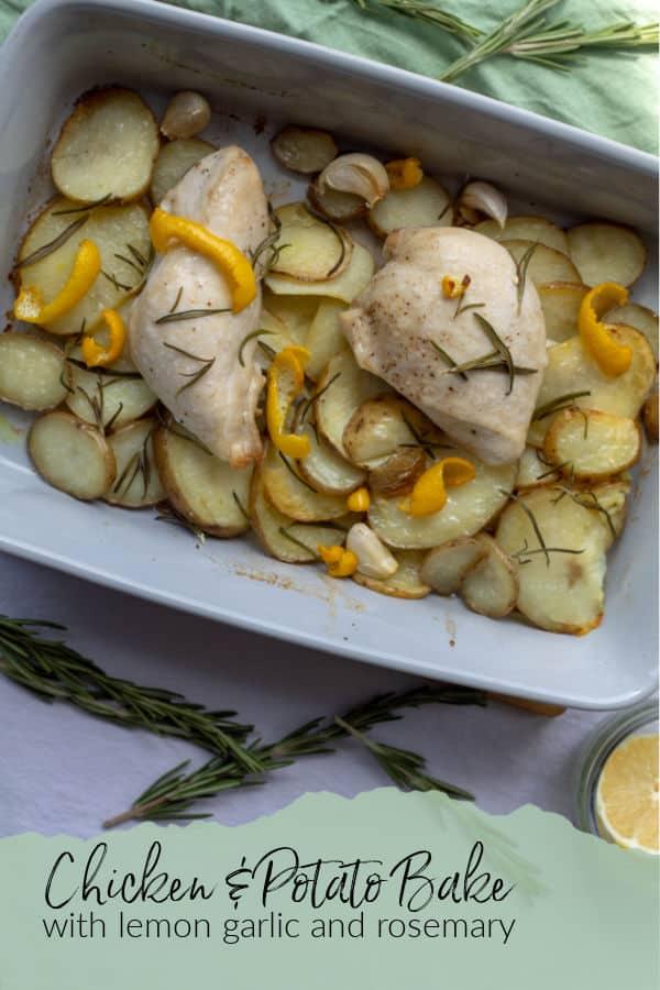Chicken and Potato Bake