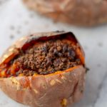 One Baked Sweet Potato Brulee