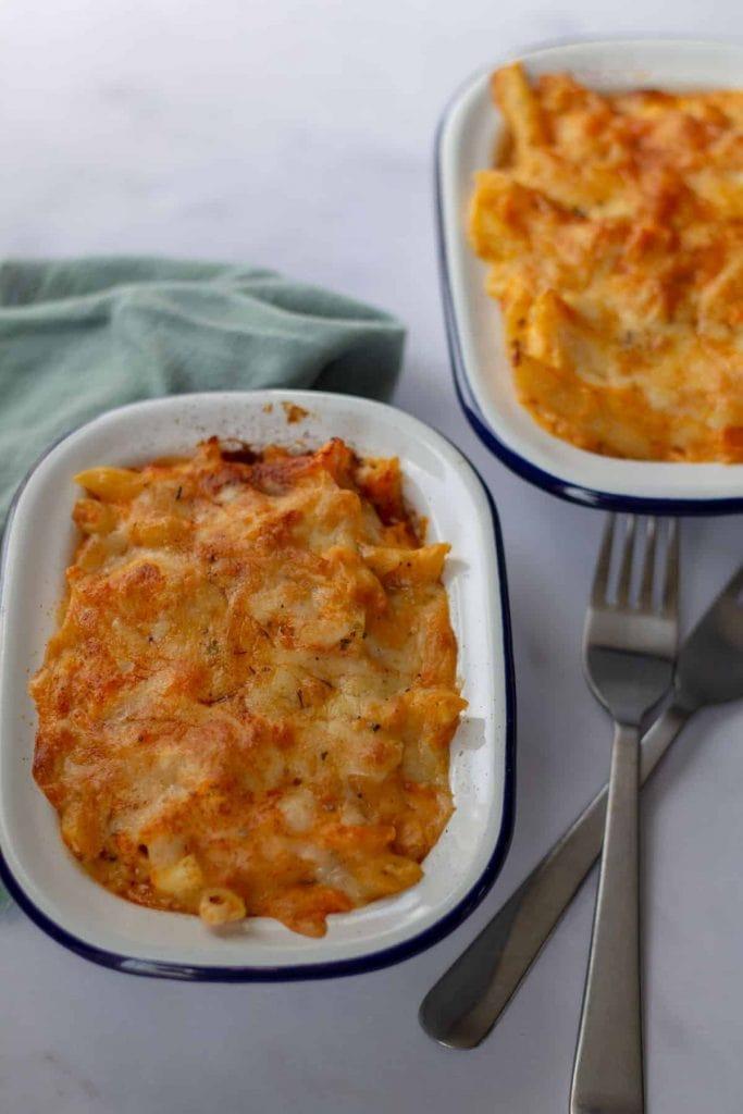 Sweet Potato Mac & Cheese