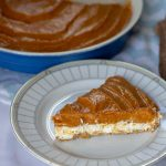 No-Bake Double-Layer Pumpkin Pie slice