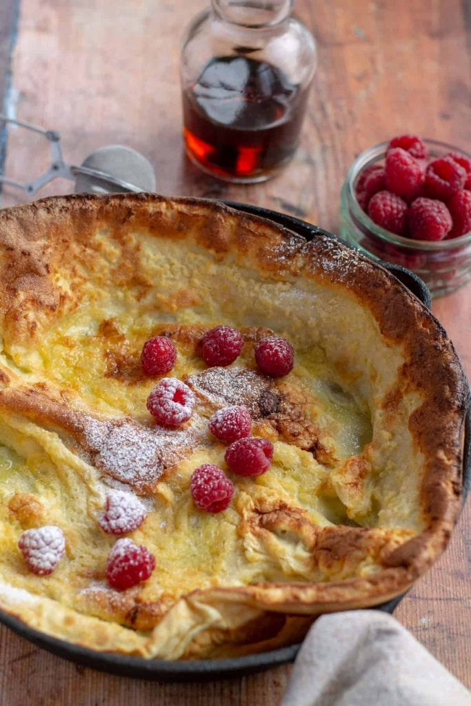 Dutch Baby in a skillet