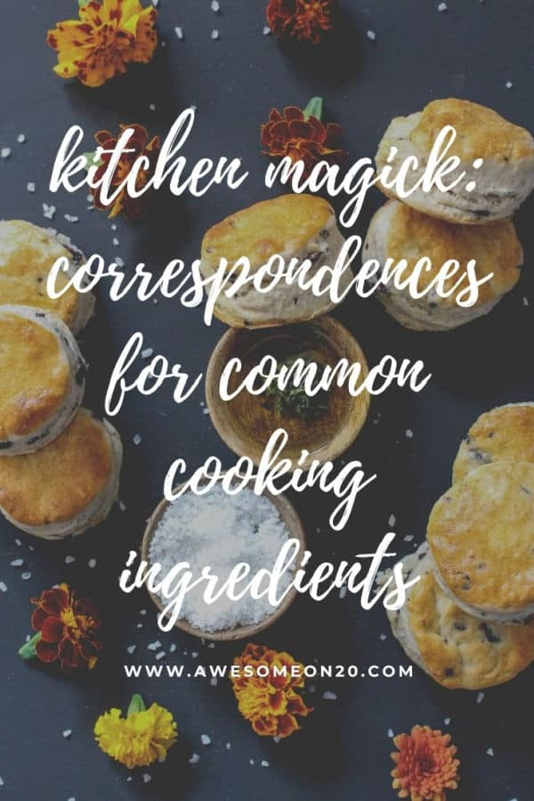 Kitchen Magick with scones and flowers