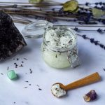 Salt Scrub Recipe with lavendar