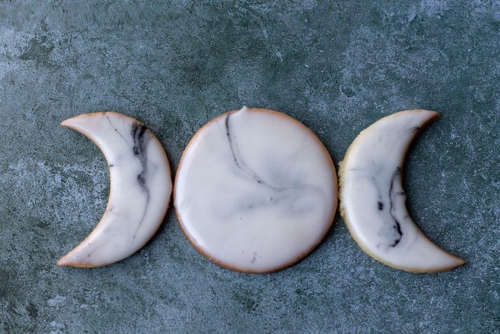 triple goddess sugar cookies