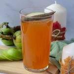 Orange & Amaretto Cider in a pint glass